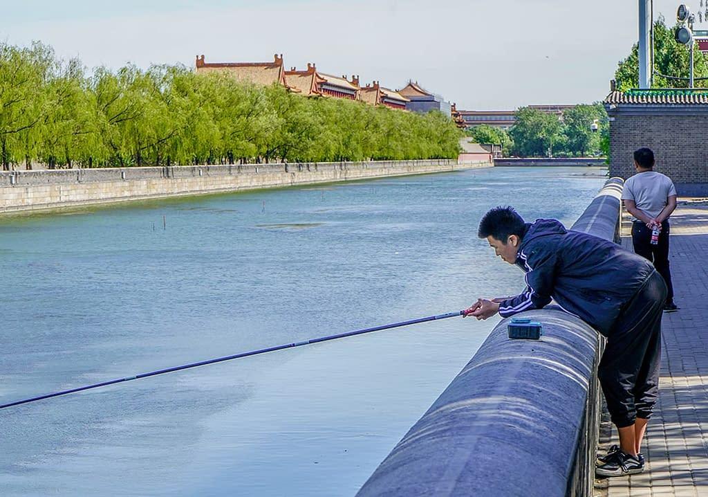 Kielletty kaupunki ja kalamies
