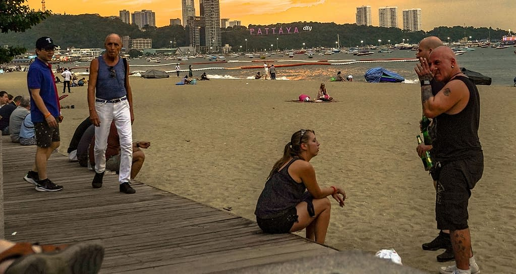 Thaimaan turistit