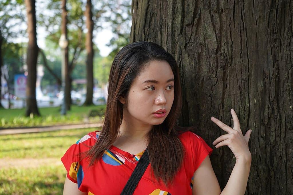 Psykolörö puistossa