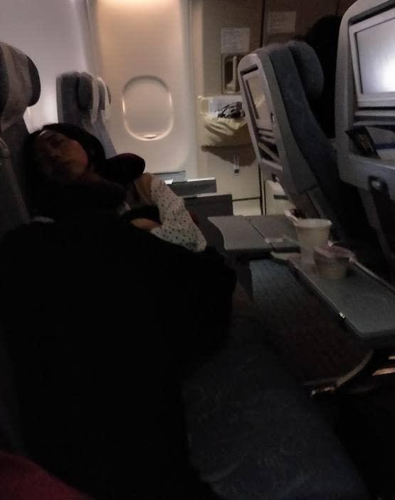 Nukun lennolla kiinalaisen kanssa